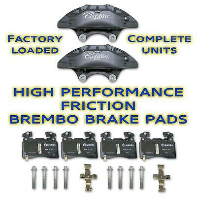 Cadillac Performance  Brembo Front Set Brake Calipers with 171-1141 Brake Pads