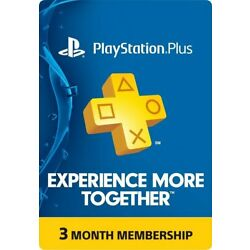 Kyпить Sony PlayStation Plus: 3-Month Subscription Membership на еВаy.соm