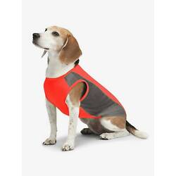 NEW! COOLING INSECT SHIELD DOG PET SHIRT TANK BUG PROTECTION RED
