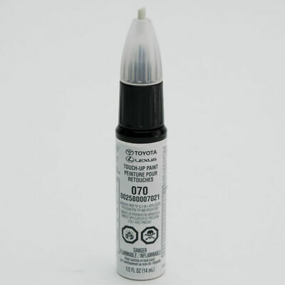GENUINE TOYOTA BLIZZARD PEARL TOUCH-UP PAINT PEN CODE 070 OEM 00258-00070-21