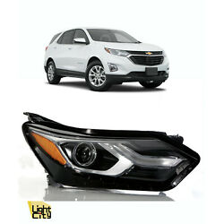 Kyпить 2018-2020 EQUINOX PASSENGER SIDE [* HALOGEN *] HEADLIGHT ASSY (w/ LED D.R.L) RH на еВаy.соm