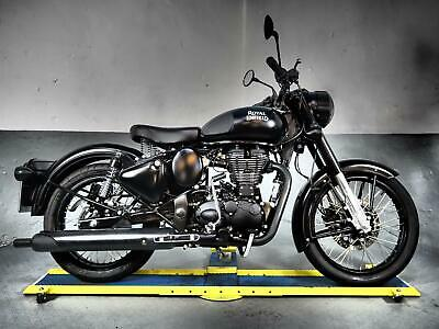 2018 68 Royal Enfield Bullet Stealth 500 EFi 312 miles,light covers ,classic