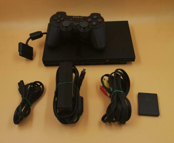 pS2 Slim   Console Mod  Chip PS2 Slim COMPLETA CON DI 5 GIOCHI
