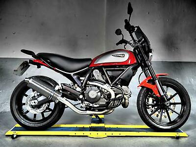 2015 Ducati Scrambler Icon 3k,Delkevic pipe,engine bars rear rack,fly screen ,