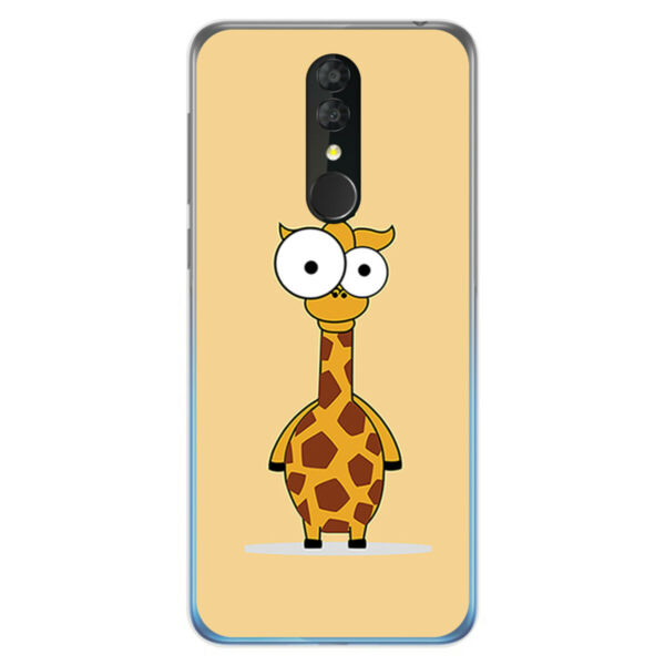 EspagneCoque TPU Gel Pour Alcatel 3 2019 Design  Dessins