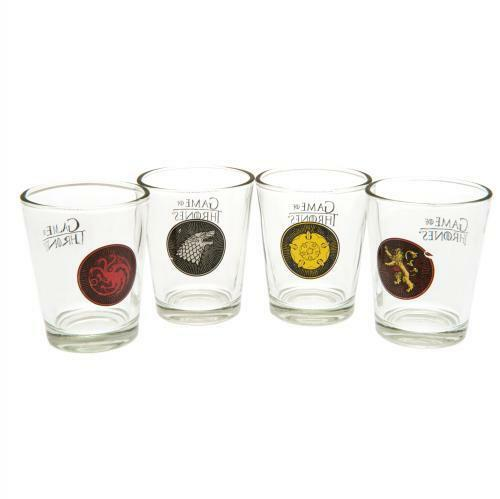 Royaume-UniGame Of Thrones 4pk Shot Verre Set Marchandise le