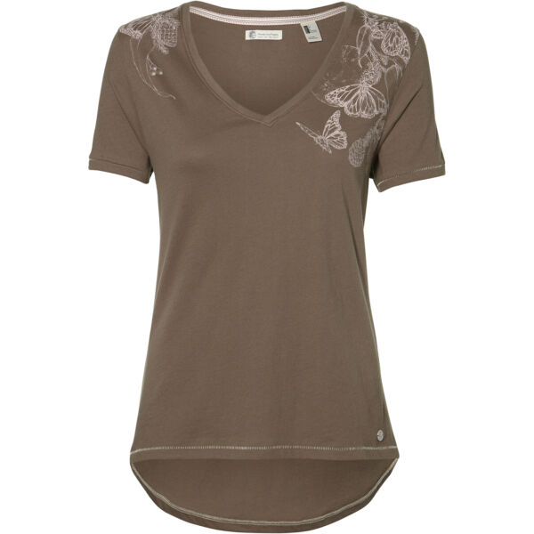 AllemagneO'Neill T-Shirt Chemise Lw Marisa T-Shirt Braun Unicolore Impression