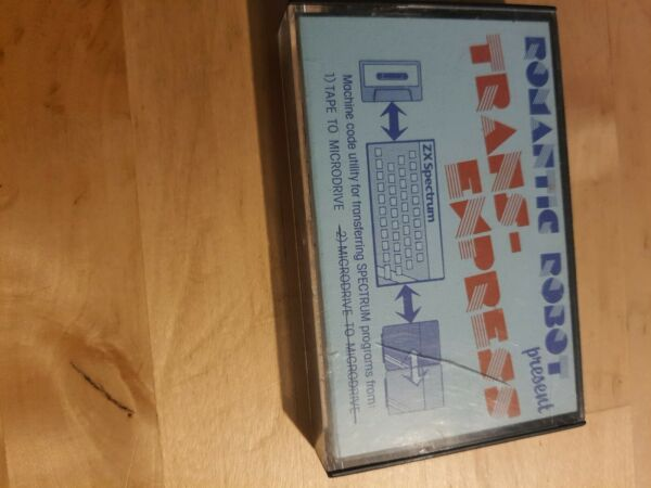 Rare Romantic Robot Trans-Express  ZX Spectrum 48K/16K Tape To Microdrive