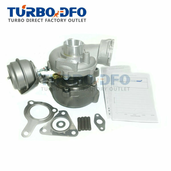 Garges lès Gonesse,FranceTurbocharger 717858 full turbo e for Audi A4 A6 2.0 TDI B7 C6 103Kw 140HP