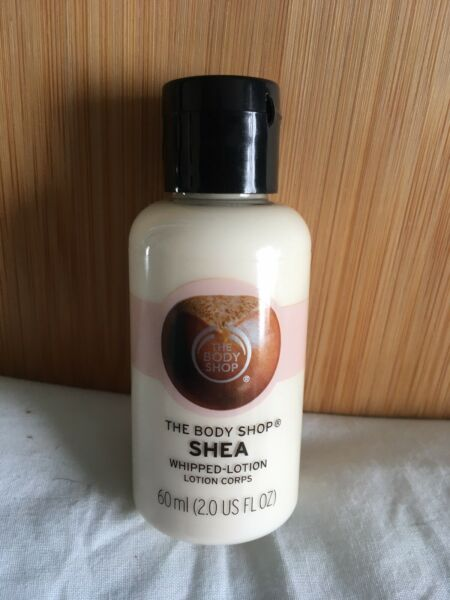 The Body shop Shea Butter Whipped Body Lotion 60ml new