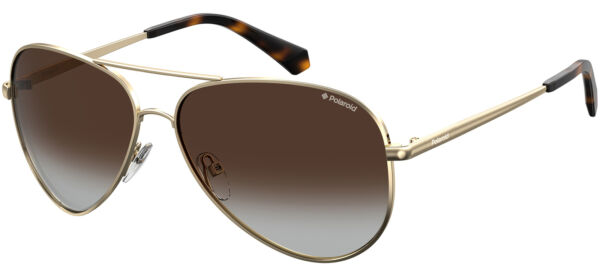 Italie PLD 6012/N/NEW Gold/Brown Shaded 56/14/140 unisex Sunglasses