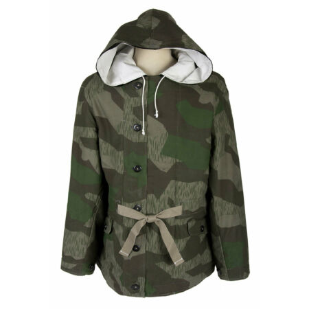 img-Jacket Padded Quilted German Splinter, German WW2 Parka Camo WH