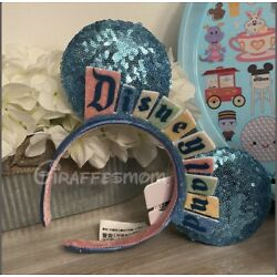 Kyпить New 2020 Disney Parks exclusive Disneyland Marquee sign Ears ear Headband на еВаy.соm