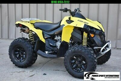 2020 CAN-AM RENEGADE 570 YELLOW 4X4 ATV  Top of the Line ATV #0125
