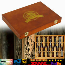 Kyпить Wood Carving Chisels | Gouges Set Pro Woodworking Carving Hand Tools Kit 12Pcs  на еВаy.соm