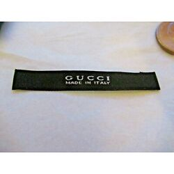Kyпить GUCCI for 2 Clothing Designer Tag LABEL Replacement Sewing Accessories lot 2 на еВаy.соm