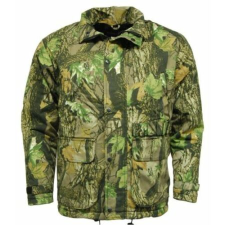 img-Mens Camouflage C5 waterproof jacket hunting paintballing fishing Hunting soot