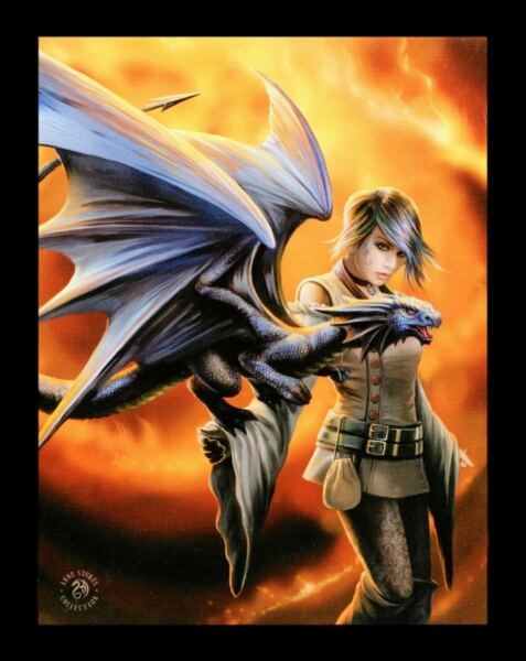 AllemagnePetite Toile Avec Dragons - Trainer - Anne Stokes Image Décoration Murale