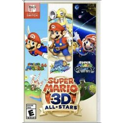 Kyпить Super Mario All Stars 3D All-Stars Nintendo Switch Sealed US NTSC Physical на еВаy.соm