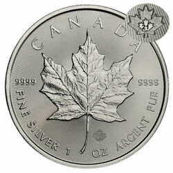 Kyпить 2021 Canada 1 oz Silver Maple Leaf $5 Coin GEM BU на еВаy.соm