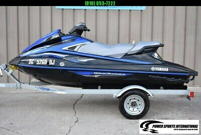 Yamaha VX DELUXE PWC 3 Seater (Personal Watercraft) w/ Trailer Only 33 Hrs