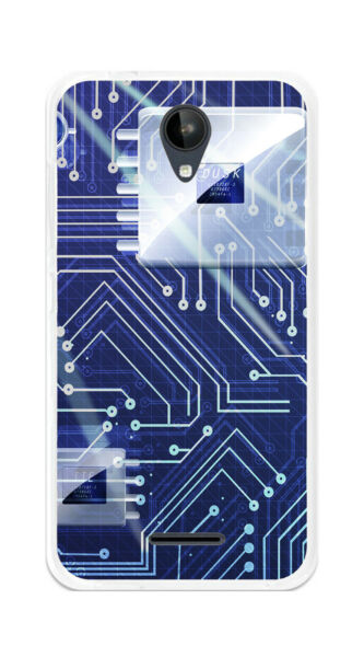EspagneCover Gel TPU Case Cover For ZTE Blade A310 Circuit