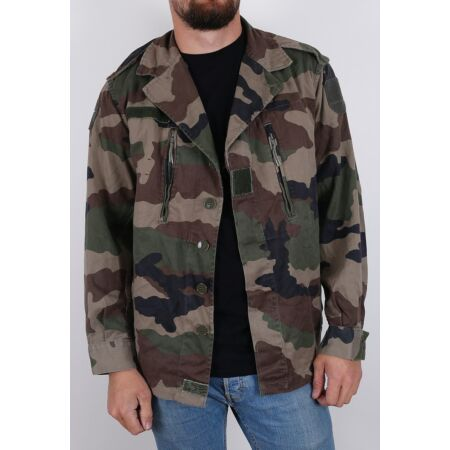 img-New Vintage French F2 camo jacket army military camouflage 1980s CCE woodland