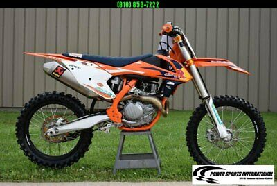 2017 KTM 450 SX-F FE FACTORY EDITION 4-Stroke MX Off Road Motorcycle