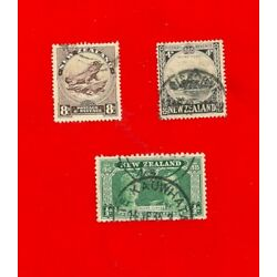Kyпить 3 NEW ZEALAND  Stamps (Lightly Hinged)  на еВаy.соm