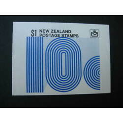 Kyпить NEW ZEALAND 1978 $1  BOOKLET**2nd setting**  SG SB 31a на еВаy.соm