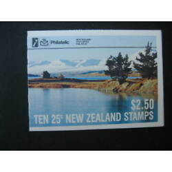 Kyпить NEW ZEALAND 1985 $2.50 LAKE TEKAPO  BOOKLET  SG SB 39 на еВаy.соm