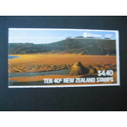 Kyпить NEW ZEALAND 1987 $4.40 TOTARANUI BEACH  BOOKLET  SG SB 44 на еВаy.соm