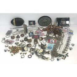 Kyпить Junk Drawer Jewelry Belt Buckles Beads Chain Rings Lighter Cases Keychains на еВаy.соm