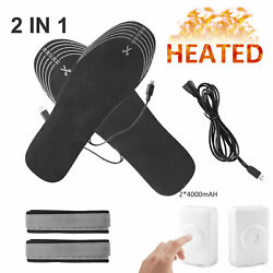 Kyпить Electric Heated Socks W/ Rechargeable Battery Foot Winter Warm Skiing Hunting US на еВаy.соm