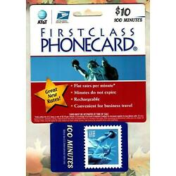 Kyпить AT&T / U.S. POSTAL SERVICE Statue of Liberty Stamp 2004 Phone Card ( Expired ) на еВаy.соm