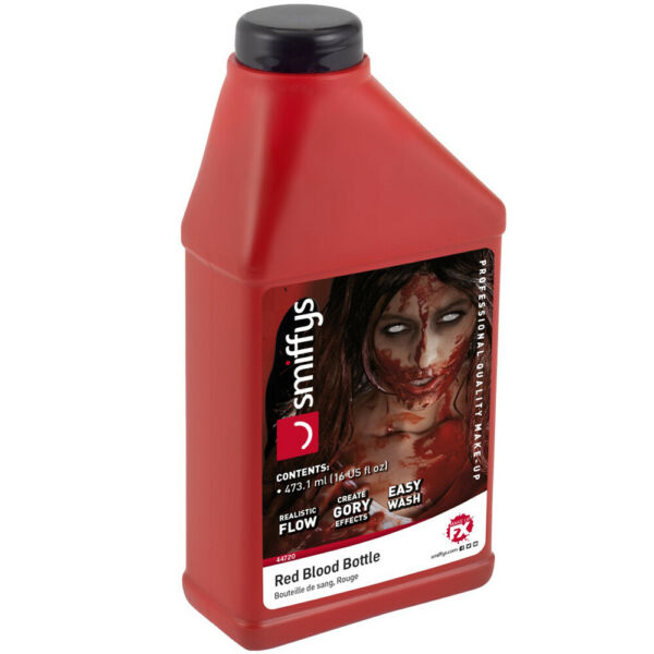 Royaume-UniSang Bouteille Halloween Déguisement Vampire  Effets Zombie