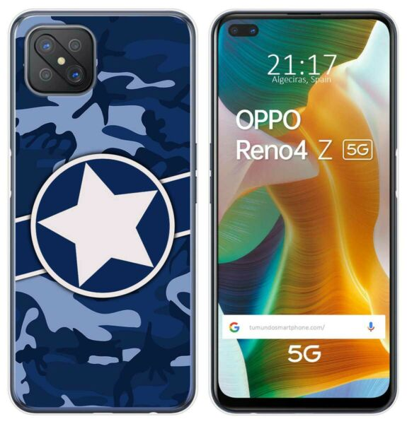 EspagneCover Gel TPU Case Cover For Oppo Reno 4Z 5G Design  03 Drawings