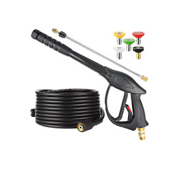 Kyпить High Pressure Washer Power Spray Gun Kit 3200 psi Nozzle Extension Wand Hose M22 на еВаy.соm