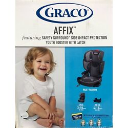 Kyпить GRACO AFFIX BOOSTER WITH SAFETY SURROUND LATCH BACK. на еВаy.соm