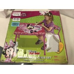Kyпить Minnie Mouse Blossoms & Bows Jr. Activity Table Set with 1 Chair на еВаy.соm