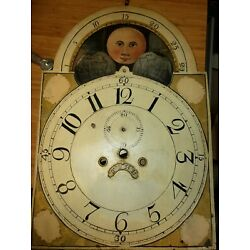 Kyпить #374 Antique Grandfather Clock Dial To Restore на еВаy.соm