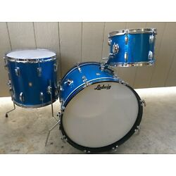 Kyпить Vintage 1963 Ludwig Downbeat 3PC Shell Pack, 1 owner Beauties!  sound amazing!   на еВаy.соm