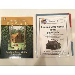 Little House in the Big Woods, Student Study Guide  and Lapbook
