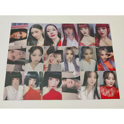 Kyпить (G)i-dle I Burn Official lucky photocard gidle g idle member cut на еВаy.соm
