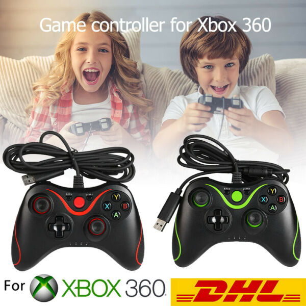 DeutschlandWired USB Game Controller Gamepad Joypad für  Xbox 360 PC Windows