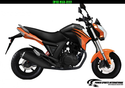 2021 LIFAN KP MINI 150 E-Start Motorcycle 65mph HONDA GROM KILLER ORANGE NICE!!