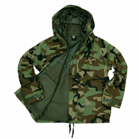 img-US Army Military Woodland Parka Winter Jacket Rain Jacket Liner Fleece Jacket