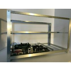 Kyпить Crypto Coin Open Air Mining Frame Rig Case Kit form Made in USA  6 to 8 GPU ETH на еВаy.соm