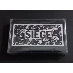 Siege Dropdead Cassette hardcore power violence dropdead spazz heresy iron lung