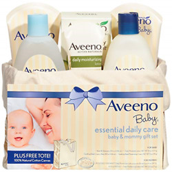 Kyпить Aveeno Baby Essential Daily Care Baby & Mommy Gift Set featuring a Variety of to на еВаy.соm